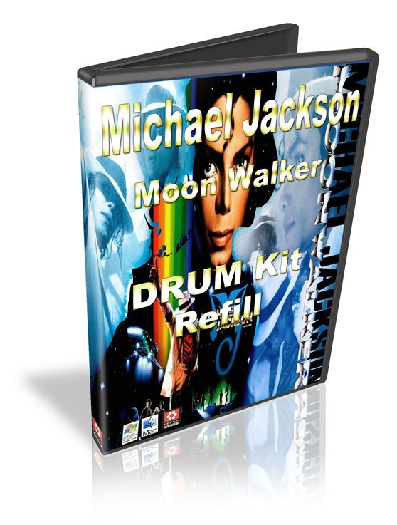 Thumbnail Michael Jackson Moon Walker Drum kit Refill