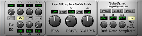 Product picture Studio Tube Driver
