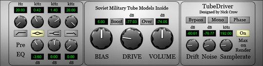 Thumbnail Studio Tube Driver